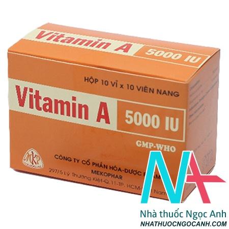 ảnh: Vitamin A 5000IU