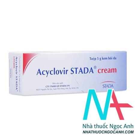 Acyclovir Stada 5g