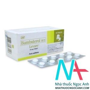 Dược chất chính bambuterol