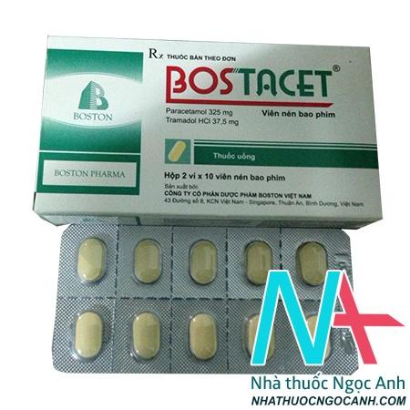 thuốc Bostacet giá bao nhiêu
