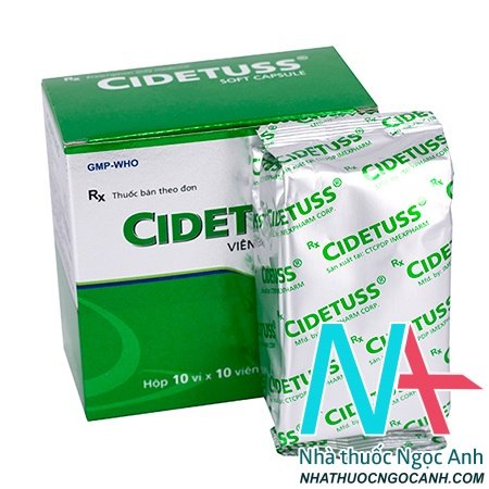 Cidetuss là thuốc gì