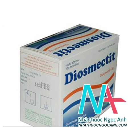 Hộp thuốc diosmectit