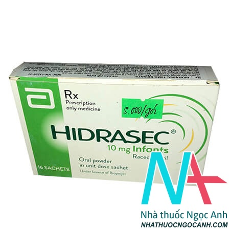 Hộp thuôc Hidrasec 10mg infants