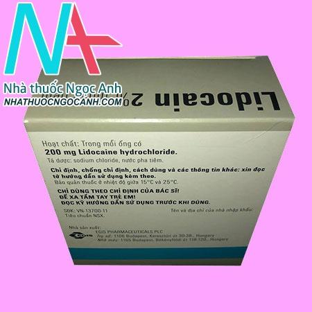 lidocain