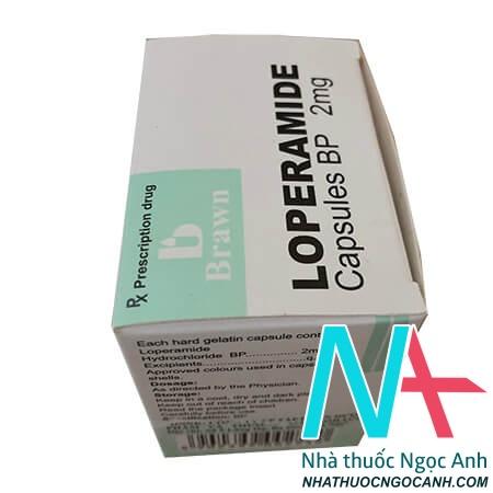 Hộp thuốc Loperamid