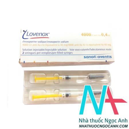 Thuốc Lovenox 4.000 anti-Xa IU/0,4 ml