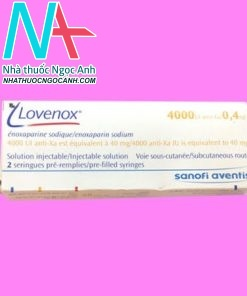 Lovenox 4000 anti-Xa IU/0,4 ml