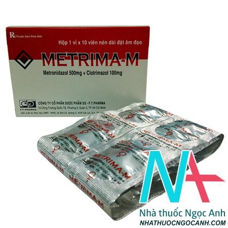 ảnh: Thuốc Metrima - m