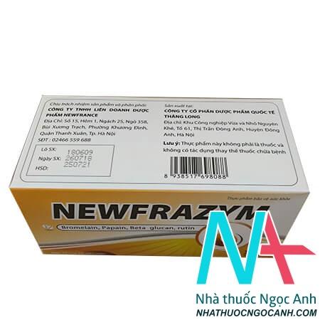 Newfrazymcó tác dụng gì