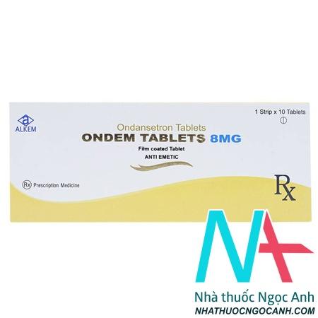 Thuốc ondem tablets 8mg