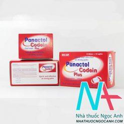 Thuốc panacol codein plus