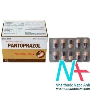 Hộp thuốc pantoprazol
