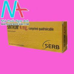 Tác dụng của Sintrom 4mg