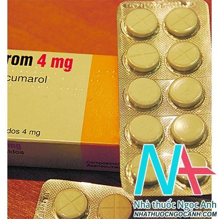 Hình ảnh: thuốc Sintrom 4mg