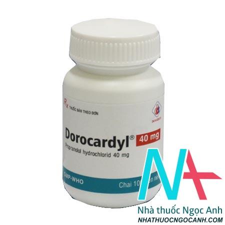 Lọ thuốc Dorocardyl