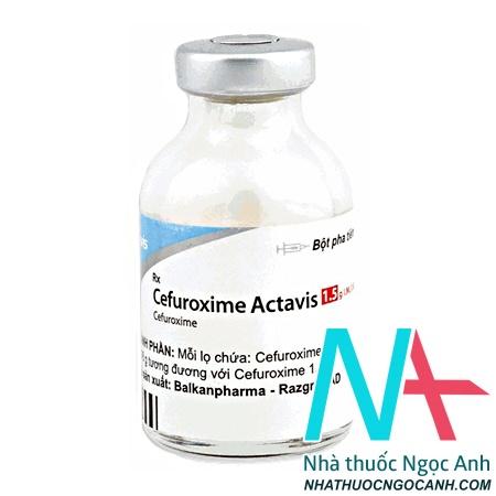 Thuốc Cefuroxime Actavis