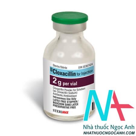 Thuốc Cloxacillin BP 2002