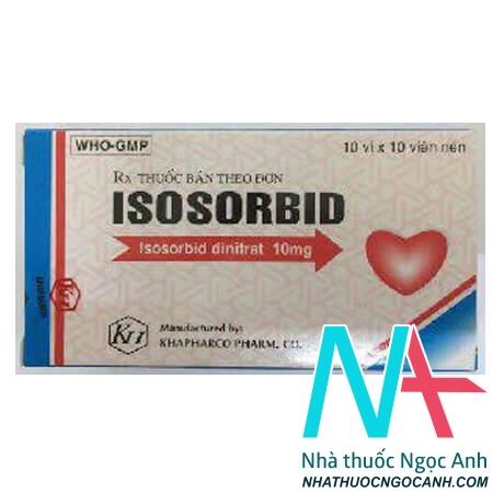 ThuốcIsosorbid dinitrat