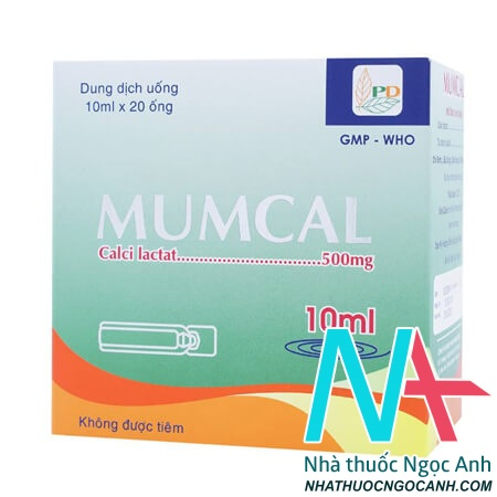 Thuốc Mumcal bổ sung calci