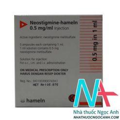 Thuốc Neostigmine-hameln điều trị Bệnh nhược cơ năng