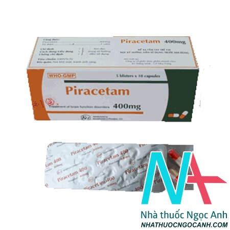 Hộp thuốc piracetam