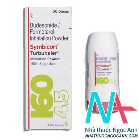 Thuốc Symbicort Turbuhaler điều trị Bệnh phổi tắc nghẽn mạn tính (COPD)
