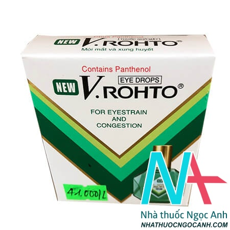 Hộp thuốc New V-Rohto