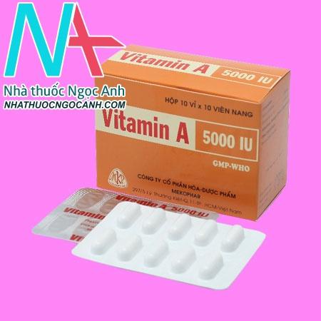 Vitamin A 5000 IU