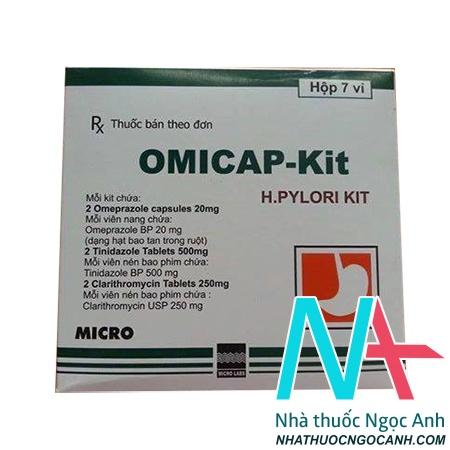 OMICAP KIT là thuốc gì giá bao nhiêu