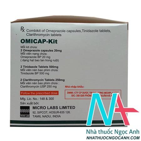 OMICAP KIT là thuốc gì