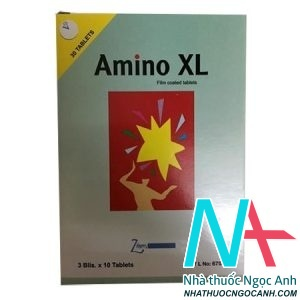 Amino XL có tác dụng gì