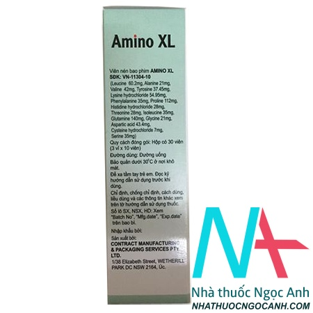 Amino XL là thuốc gì