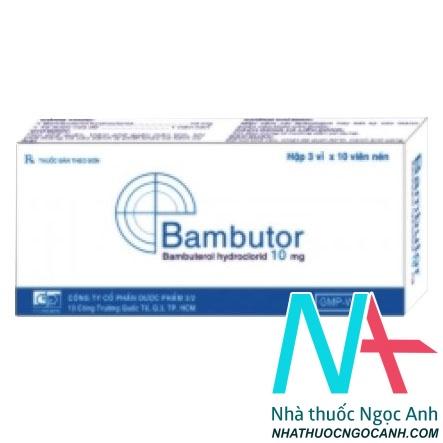 Thuốc Bambutor