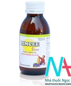 Chai dung dịch uống limcee