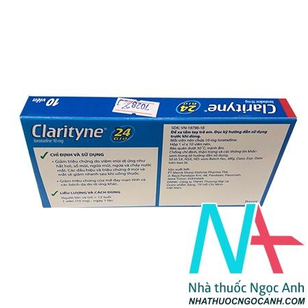 Clarityne có tác dụng gì
