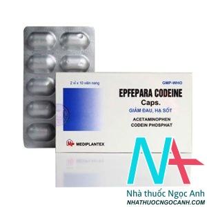 Epfepara codein