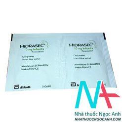 Gói thuốc Hidrasec 10mg infants