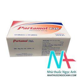 Thuốc Partamol eff