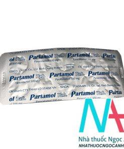 Thuốc Partamol eff giá bao nhiêu