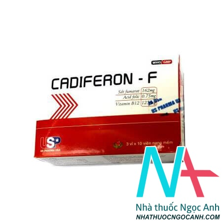 Thuốc Cadiferon-F