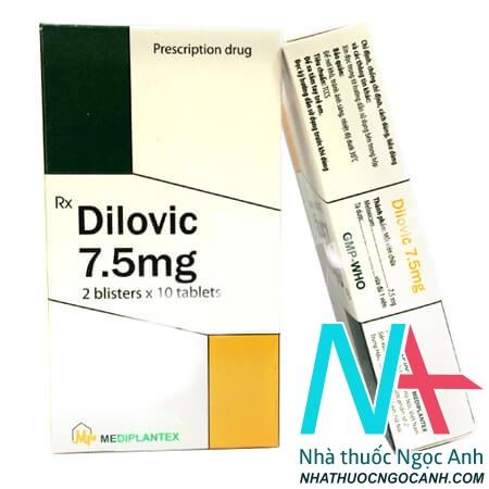 Thuốc Dilovic có tác dụng gì