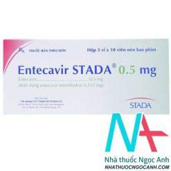 Thuốc Entecavir STADA® 0.5 mg