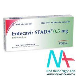 Thuốc Entecavir STADA® 0.5 mg giá bao nhiêu