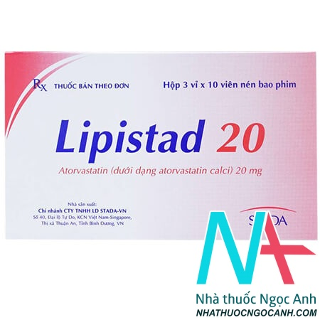 Thuốc Lipistad 20