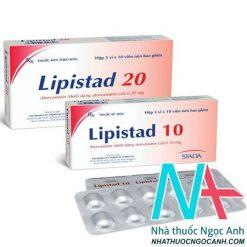 Thuốc Lipistad 20 có tác dụng gì