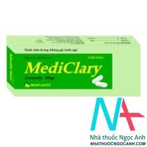 Thuốc MediClary giá bao nhiêu