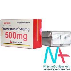 Thuốc Medisamin 500 có tác dụng gì
