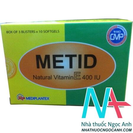 thuốc metid có tác dụng gì