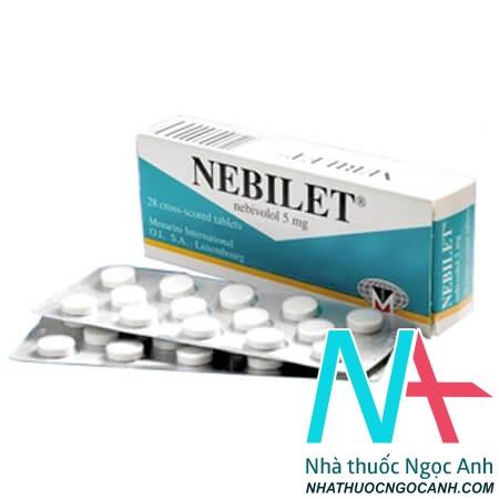 NEBILET® chứa nebivolol