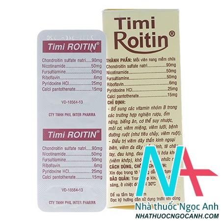 Timi Roitin giá bao nhiêu